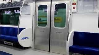 getlinkyoutube.com-[FHD]KORAIL盆唐線 351000系 3次車 ソウルスプ駅 ドア開閉
