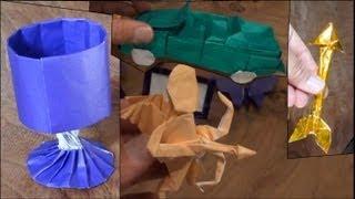 getlinkyoutube.com-10-hour Origami Design Marathon (Not a Tutorial)