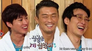 getlinkyoutube.com-Happy Together - The Return of Superman Special with Lee Hwijae, Tablo & more! (2014.01.01)
