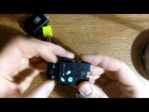 Замена ламп подсветки кнопок (аварийки, подогревов, птф) сузуки лиана, аэрио и тп.