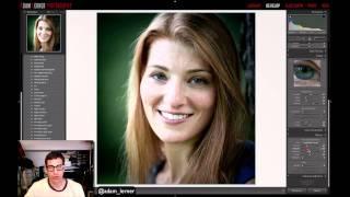 getlinkyoutube.com-Portrait Photography RAW EDIT - Adobe Lightroom