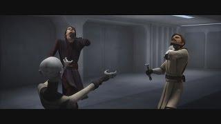 getlinkyoutube.com-Star Wars: The Clone Wars - Asajj Ventress vs. Anakin & Obi-Wan [1080p]