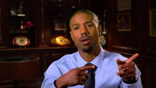 "getlinkyoutube.com-Creed: Michael B. Jordan ""Adonis Johnson"" Behind the Scenes Movie Interview"