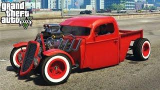 getlinkyoutube.com-★ GTA 5 - AMAZING 1936 Ford Hot Rod Mod! Customization & Gameplay (GTA V PC Mods)