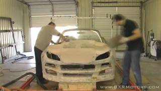 getlinkyoutube.com-Bailey Blade XTR Car Design |  Working Fiberglass body shell - Part 14