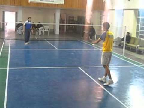 FAHAD KHAN IN POF HAVELIAN BADMINTON SEMIFINAL MATCH 7.2.2014