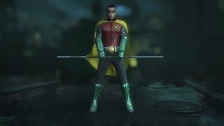 getlinkyoutube.com-Batman Arkham City: Damian Wayne Robin Mod