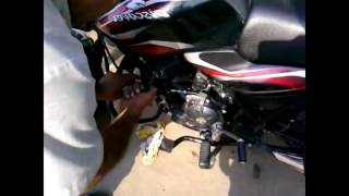 Bike starting problem How to fix motorcycle spark plug