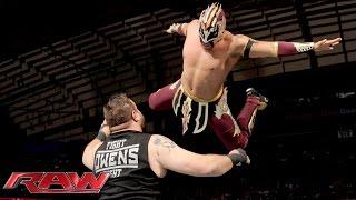 getlinkyoutube.com-Kalisto vs. Kevin Owens: Raw, October 12, 2015