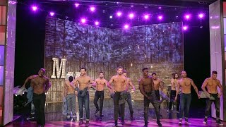getlinkyoutube.com-The 'Magic Mike Live' Dancers Perform