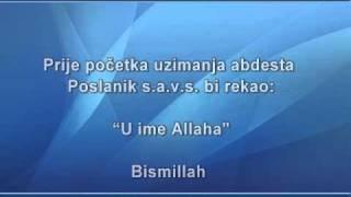 getlinkyoutube.com-Kako se uzima abdest - Safet Kuduzovic