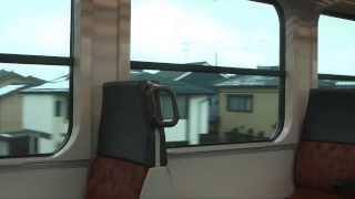 【唸るエンジン!】キハE120-6走行音  亀田~荻川  コマツDMF15HZ+DW22