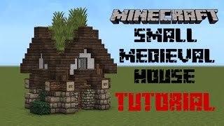 getlinkyoutube.com-Minecraft - Medieval house tutorial
