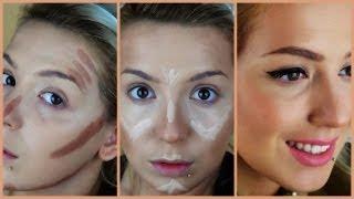getlinkyoutube.com-Jak modeluję swoją twarz czyli konturowanie i rozświetlanie