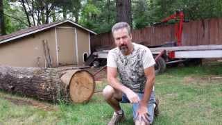 getlinkyoutube.com-Log Loader Ramp with 5000lb winch (part1 of 2)