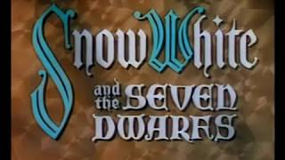 Disney's Snow White And The Seven Dwarfs, The Dwarfs' Mine, Original RKO Opening And End Credits