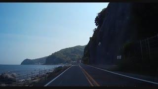 getlinkyoutube.com-伊豆の東海岸を走る 城ヶ崎~下田 車載ビデオ