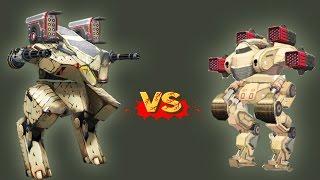 getlinkyoutube.com-Patton vs Rhino - Sura F Pinata x 4, Walking War Robots (WWR)