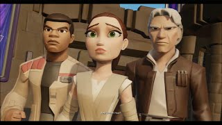 getlinkyoutube.com-Disney Infinity 3.0 - The Movie (Star Wars: The Force Awakens Playset) - All Cutscenes & Boss