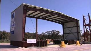 getlinkyoutube.com-Building It Better: Earthquake Testing Metal Buildings