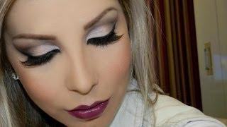 getlinkyoutube.com-Maquiagem Inspiração para o Outono, com Lu Ferraes