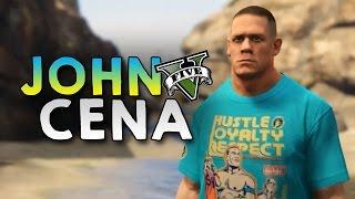 GTA 5 Mod - JOHN CENA !! - Momen Lucu GTA