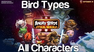 getlinkyoutube.com-Angry Birds Star Wars 2 - Bird Types All 32 Playable Characters Gameplay | WikiGameGuides
