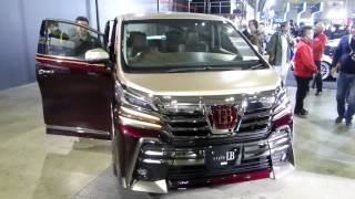 getlinkyoutube.com-2015東京オートサロン 新型アルファードor新型ヴェルファイアらしき車両 その2