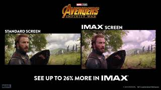 Avengers: Infinity War Side By Side IMAX Screen   Cinema 21 Trailer