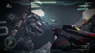Halo 5 Guardianes - ¡Disparale en el miembro! - La noche de las Mantis