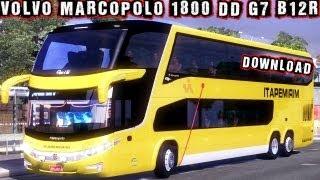 getlinkyoutube.com-VOLVO Marcopolo 1800 DD G7 B12R 6×2 Download ETS 2 HD