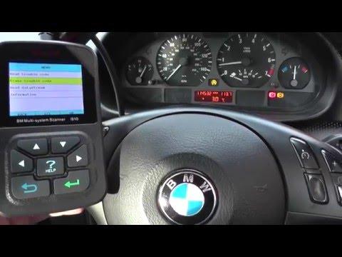BMW X5 ABS Sensor Warning Light Reset Guide