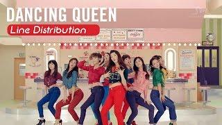 getlinkyoutube.com-[Line Distribution] Dancing Queen - SNSD