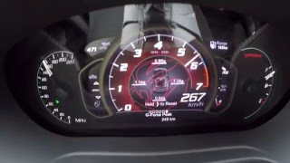 2016 Dodge Viper ACR - Acceleration & High Speed Runs (Autobahn)