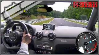 getlinkyoutube.com-Audi S1 test drive al Nürburgring