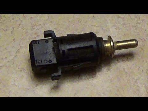 Расположение в БМВ 3 датчика охлаждающей жидкости