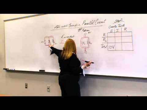 Series & Parallel Circuits & Ohm's Law Physics, part 5 - Eeris Fritz