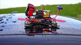getlinkyoutube.com-FPV - Kooltoyz Midge 180 Maiden Flight
