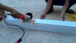 getlinkyoutube.com-Memotong Talang untuk Gully NFT Hidroponik