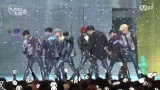 [MPD직캠] 엑소 직캠 럭키원 Lucky One EXO Fancam @엠카운트다운_160609