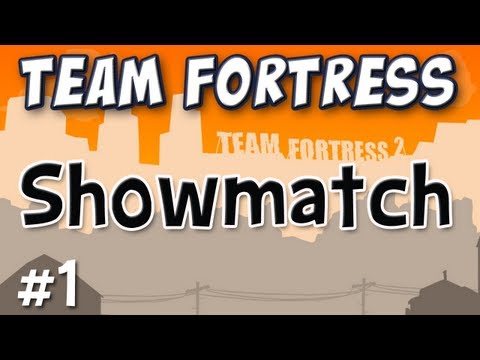 Team Fortress 2 Celebrity Showmatch Match 1 of 2