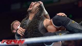 getlinkyoutube.com-CM Punk vs. Roman Reigns: Raw, Jan. 6, 2014