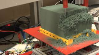 getlinkyoutube.com-FischerTechnik + Arduino Milling Machine / CNC