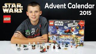 getlinkyoutube.com-2015 LEGO STAR WARS Christmas Advent Calendar Set No. 75097
