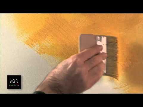 Come dipingere una parete ad effetto pennellato   tutto per casa