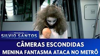 getlinkyoutube.com-Menina Fantasma Ataca no Metrô (Scary Ghost Subway Prank) - [Pegadinha - Câmera Escondida]