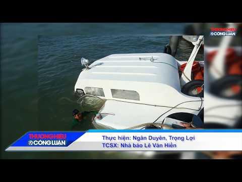 TP. HCM: Chìm tàu ở Cần Giờ 42 hành khách thoát nạn