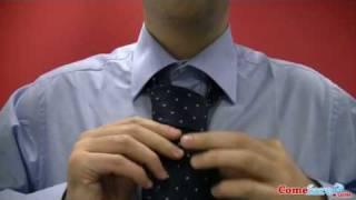 Come fare il nodo alla cravatta (semplice) - Comefare.com