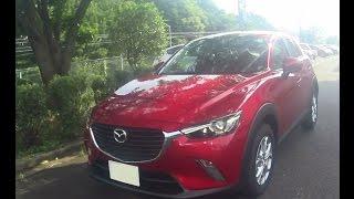 getlinkyoutube.com-【HD】マツダ CX-3 2015 の試乗&レビュー
