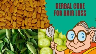 getlinkyoutube.com-Hair Loss Treatment for Men & Women - Ayurvedic Natural Home Remedies - Hair Loss Home Remedies